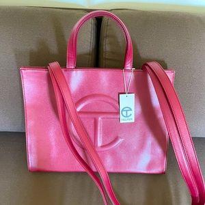 Telfar Medium Bag in Oxblood - Brand new